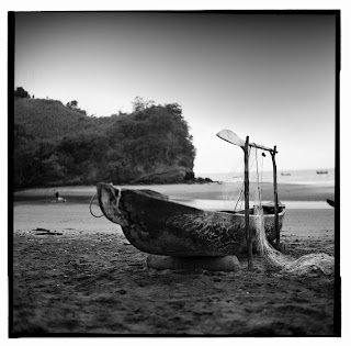 Sua, Ecuador - Brandon Allen Photography - Old Boat with Net