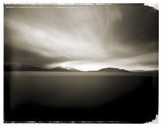 Type 55 Polaroid - Utah Lake - Brandon Allen Photography