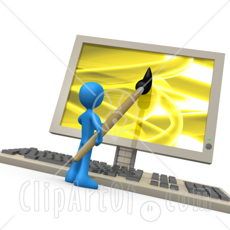 computer screen clipart. The following links will help