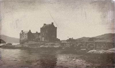 Aged Eilean Donan Castle