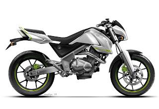 Motorcycle Bajaj Pulsar 250 Supermotard Concept