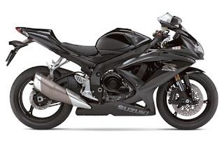 Motorcycles 2008  Suzuki GSX R600 Black Edition Bodykit