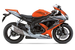 Motorcycles 2008  Suzuki GSX R600 Orange Edition Bodykit