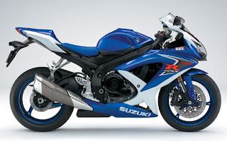 Motorcycles 2008  Suzuki GSX R600 Blue Edition Bodykit