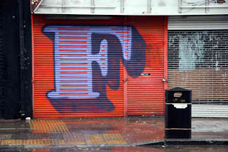 Graffiti Alphabet Sketches Letter F
