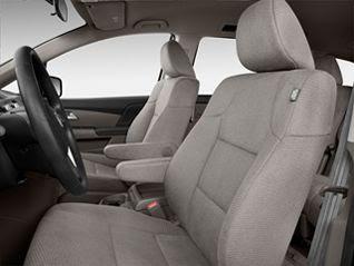 2011 Honda Odyssey LX Passenger Minivan Edition front seat