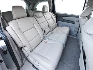 2011 Honda Odyssey LX Passenger Minivan Edition rear seat