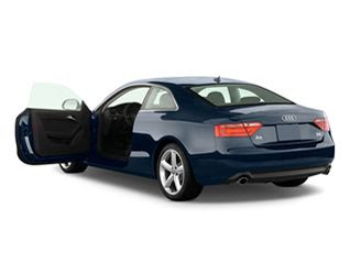 2011 Audi A5 Base Coupe Left Side