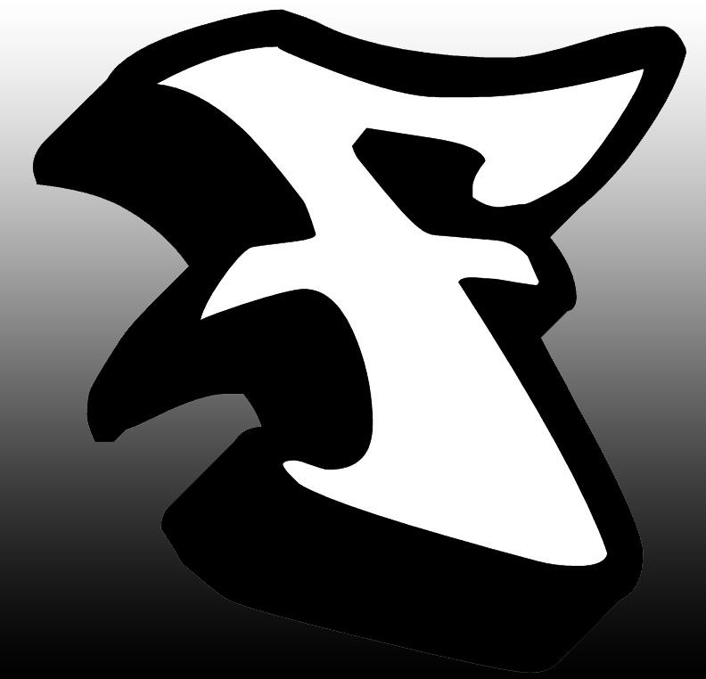 Master of Graffiti: Graffiti Letter F 3D Style Design