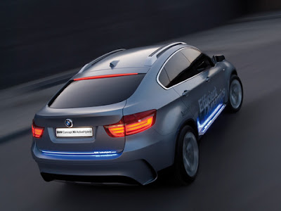 Bmw X6 Wallpaper 2011. 2011 BMW ActiveHybrid X6 Rear