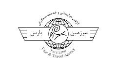 اينم لوگوي آژانس سرزمين پارس كه خودم طراحي كردم . برگرفته از علامت فروهر و علامت وسط بز كوهي باستان