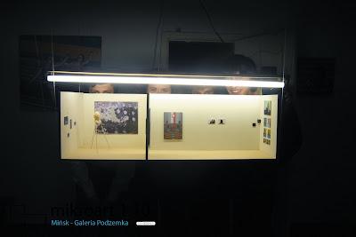 microart 1:10, wystawa grupy STRUPEK, Mińsk, Galeria Podzemka