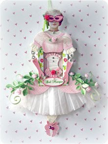 Bal Masque A Carnival Venezia Paper Doll