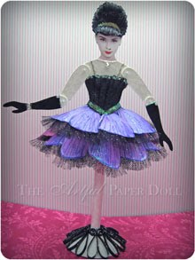 Audrey Hepburn Paper Doll