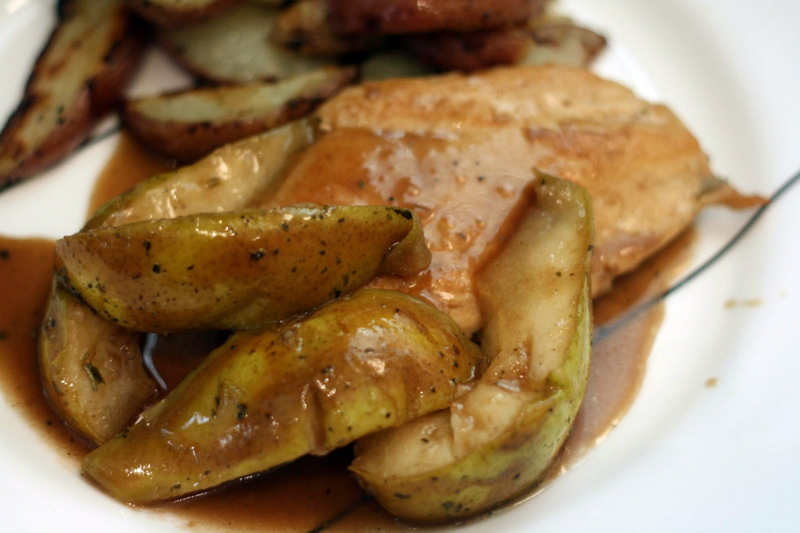 Roasted Chicken And Pears Recipes — Dishmaps