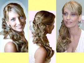 peinado semirecogido de novia