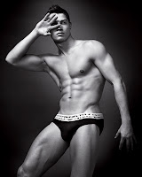 Cristiano Ronaldo for Armani bulge