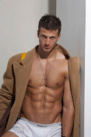 male model Michael Lewis TETU shirtless