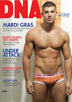 DNA Magazine 122 covermodel Gregory Verdoes