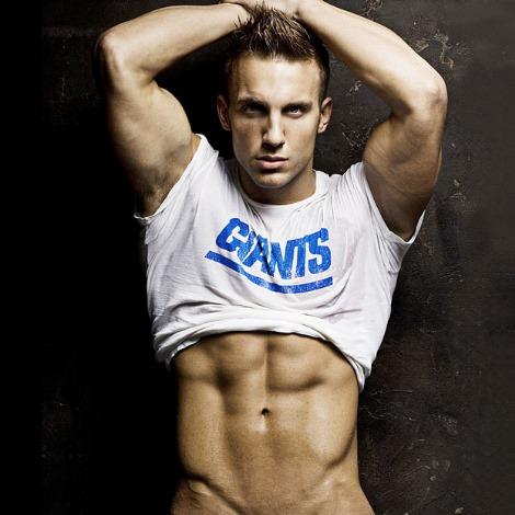 Jamie Dominic hot male model