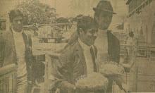 Moacir, Nado e Valdir. 1968.