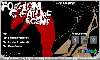 Foreign Creature Scene