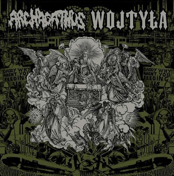 ARCHAGATHUS / WOJTYLA - Split  LP