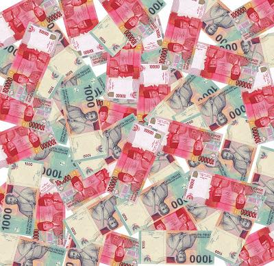 Perjalanan Uang 1000 dan 100000