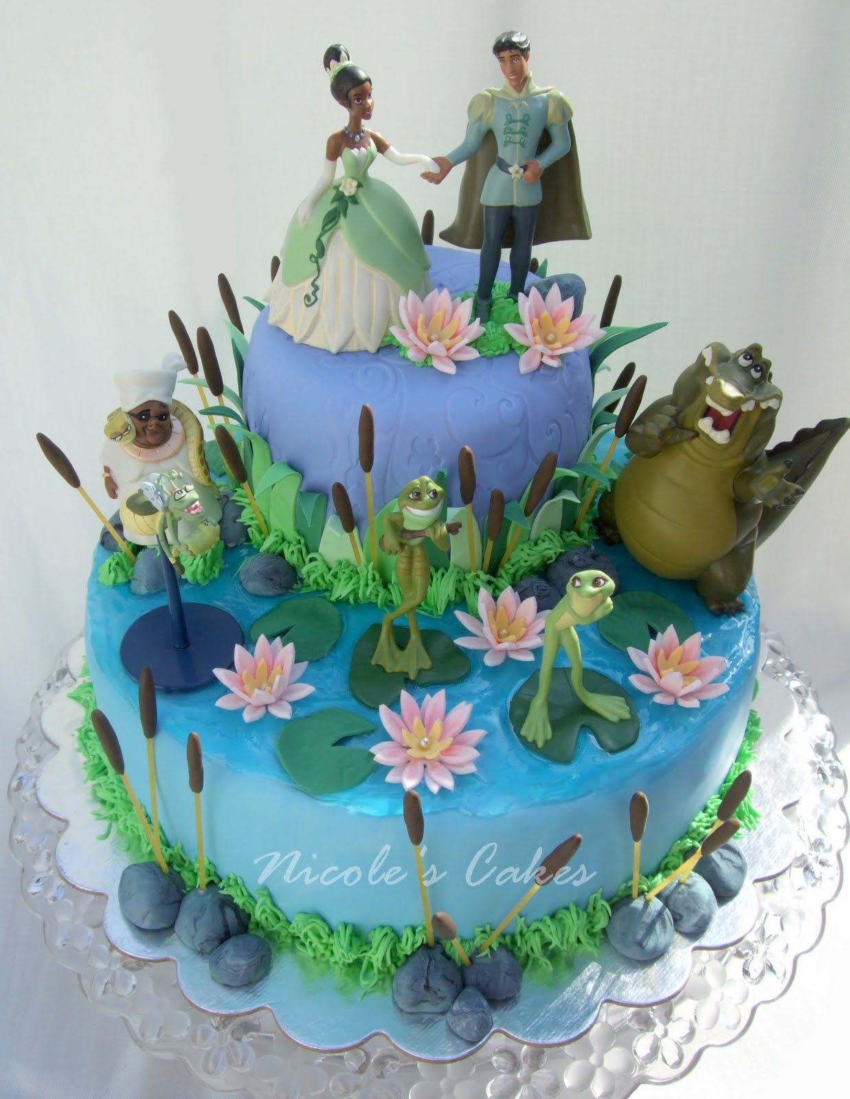 Princess and The Frog Cake 2013 The Best Party Cake