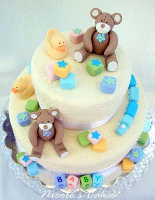 lauralovescakes: Baby Shower Cake