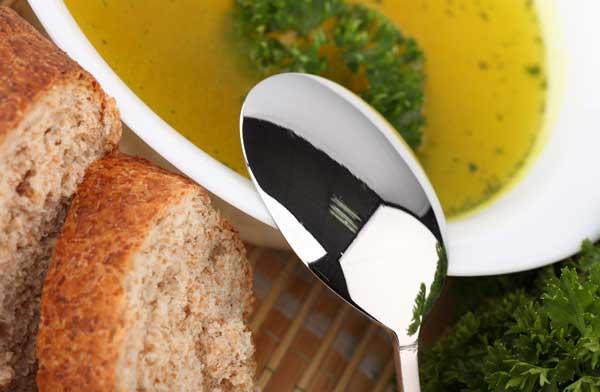 Золотой поросёнок и Чешский рыбный рождественский суп