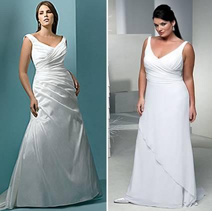 vestidos para noivas gordinhas