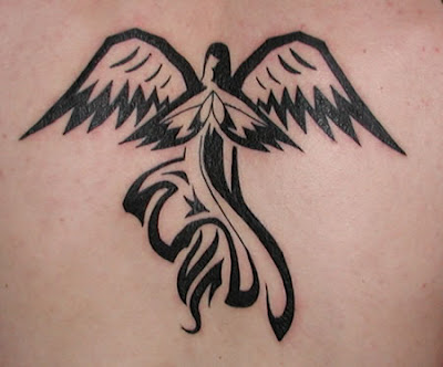tattoo designs angels. Angel tattoos are often seen