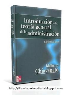Introducción a la Teoría General de la Administración   7ma Edición   Idalberto Chiavenato