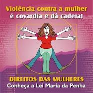 Uma vida sem violência é direito da mulher