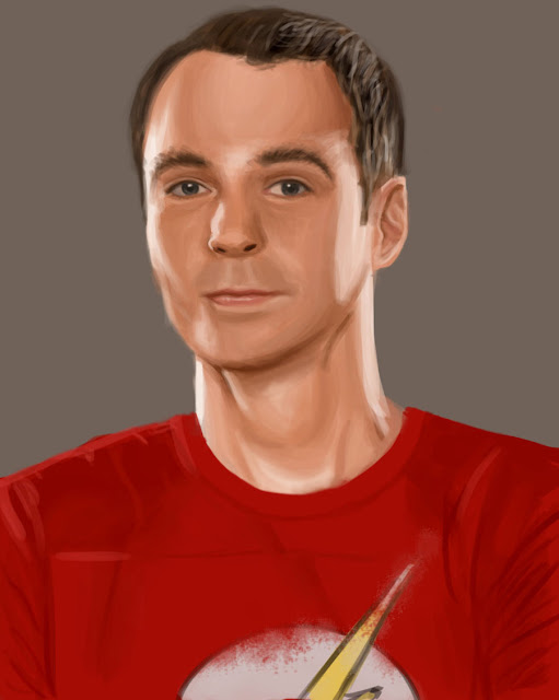 Sheldon Cooper Jim Parsons paintings