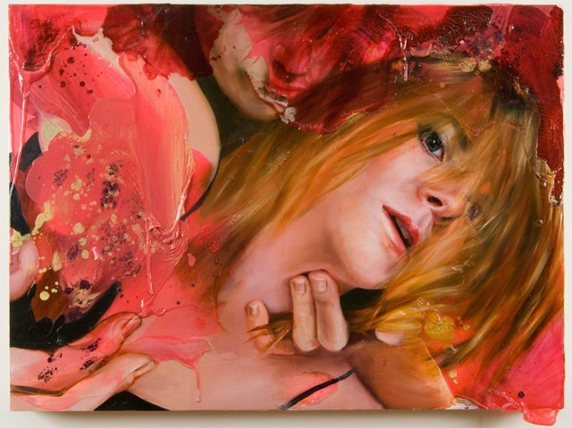 Angela Fraleigh dreamscape art amazing watercolor paintings