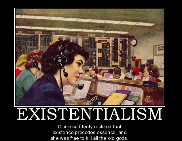 Existentialism Humor