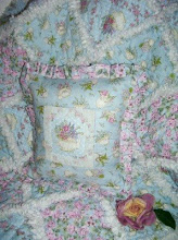 Teacup Baby Blanket &amp; Pillow