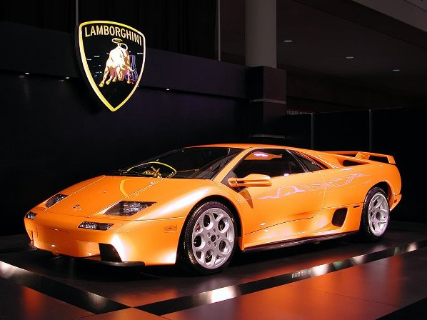 Poza cu masina Lamborghini
