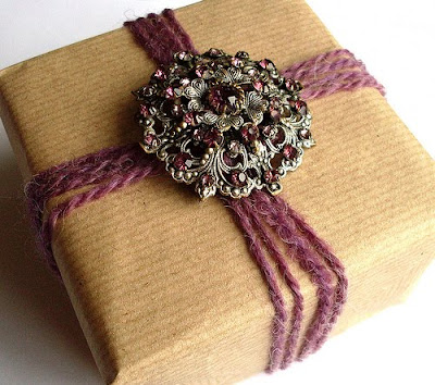 giftwrap6 Gift Wrap Idea   Brooches & Badges