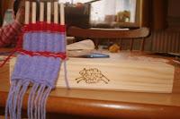 A little weaving….