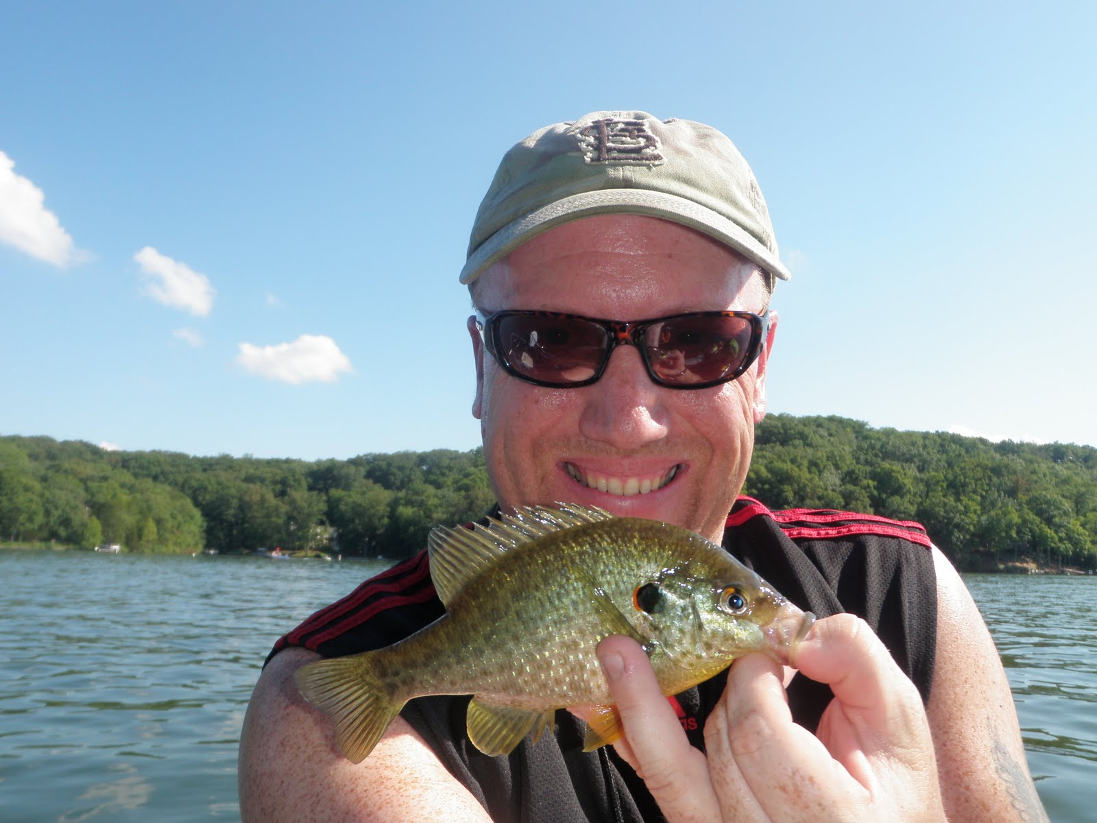 Huge bluegill for Fish in indiana