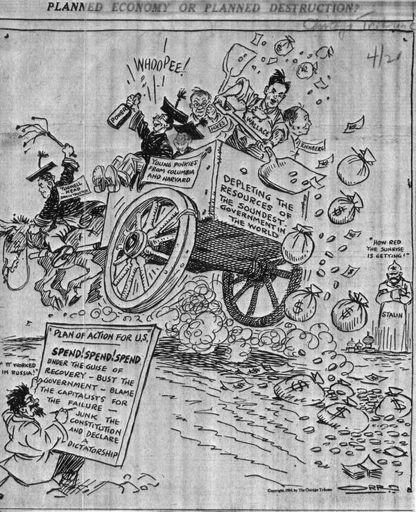 Repeal The 17th Amendment 1934 Cartoon
