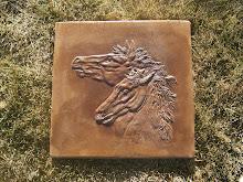 Horse Head Stepping Stone
