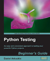 Cover of Python Testing book
