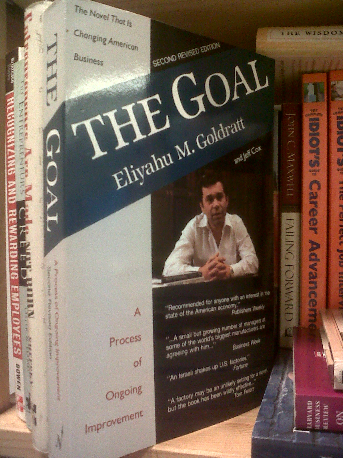 report on the book the goal A review as well as analysis of highly acclaimed book by eliyahu m goldratt the review consists of a management control system perspective.