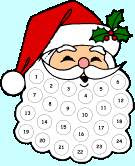 Image: Free Santas Beard Advent Calendar