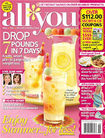 June issue of ALL YOU magazine