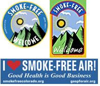 Image: Free Smoke-Free Stickers and Decals
